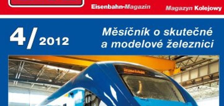 Zeleznicní magazín 4/2012 titulka