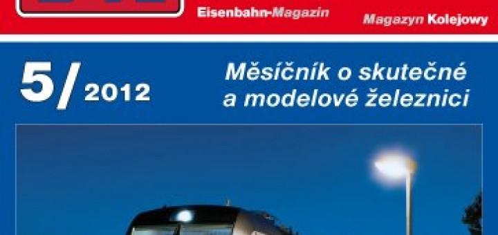 Zeleznicni magazin 5/2012 titulka
