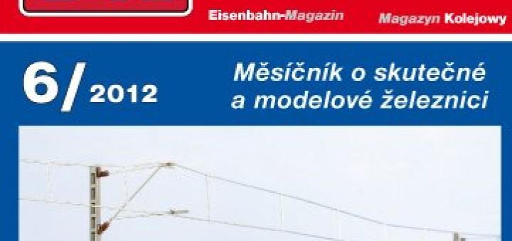 Zeleznicni magazin 6/2012 titulka