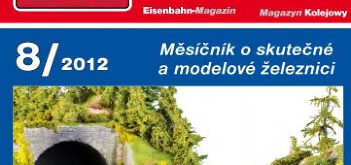 Zeleznicni magazin 8/2012 titulka