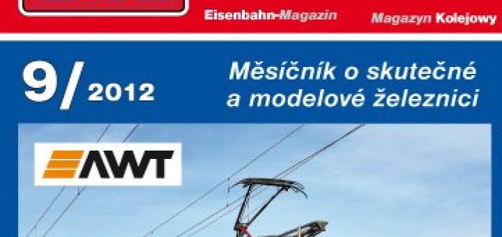 Železniční magazín 9/2012 titulka