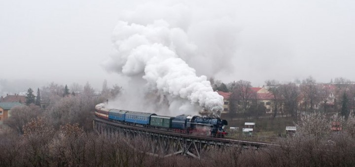 Albatros 498.104 na Myjavskom viadukte